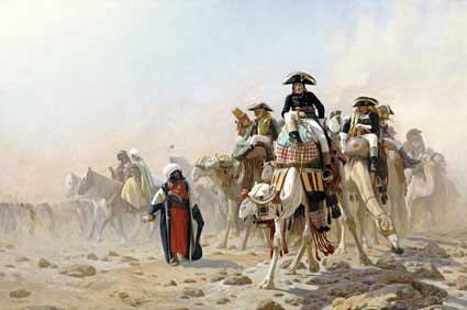 521452_Napoleon-and-His-General-Staff-In-Egypt