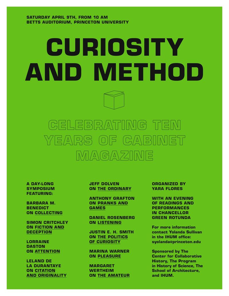 justin erik halld oacute r smith cabinet curiosity and method princeton 9 2011